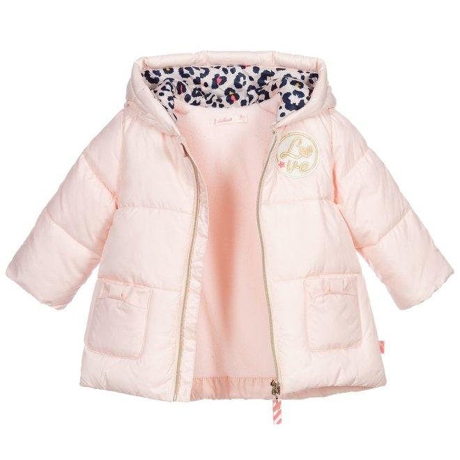 Billieblush Manteau Puffer Jacket Pink