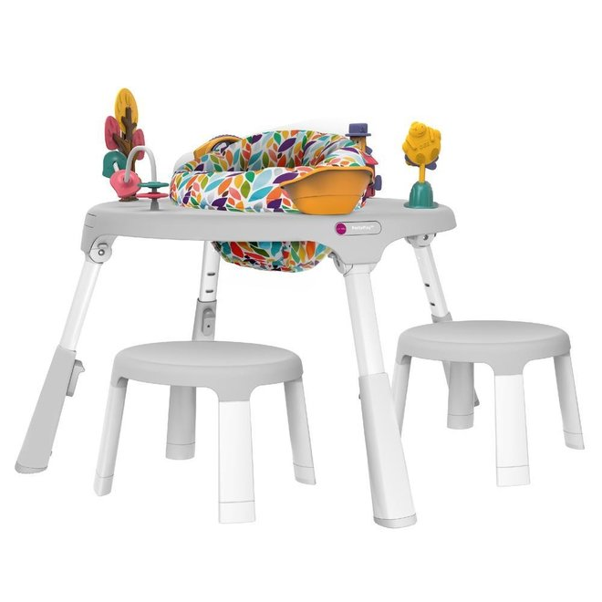 Oribel - Portaplay - Convertible Activity Center + Child Stools - Wonderland Adventures
