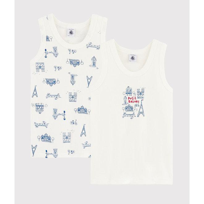 Boys' Paris Vests - 2-Piece Set Pairs 2020