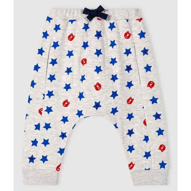 Baby boy's tubular knit trousers