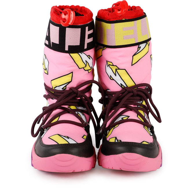 Kid Girl Lightning Snow Boots