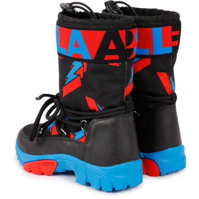 Kid Boy Lightning Bolt Snowboots
