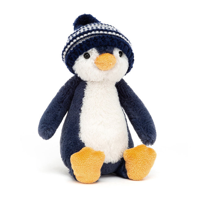 Bashful Bobble Hat Penguin