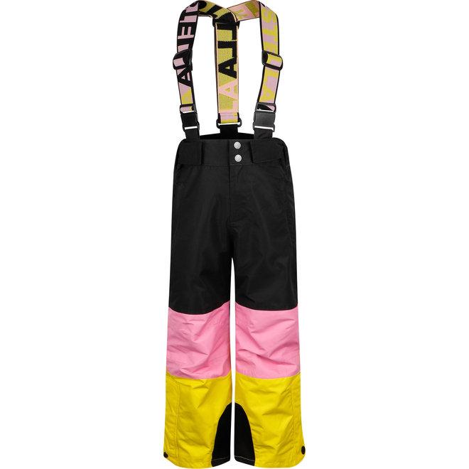 KID GIRL COLORBLOCK SKI PANTS
