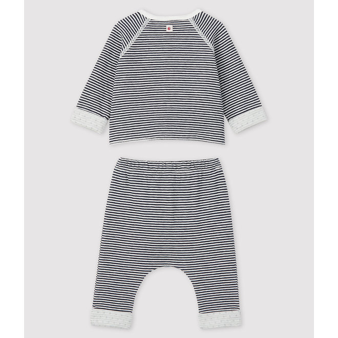 Baby's Tube Knit Three-Piece