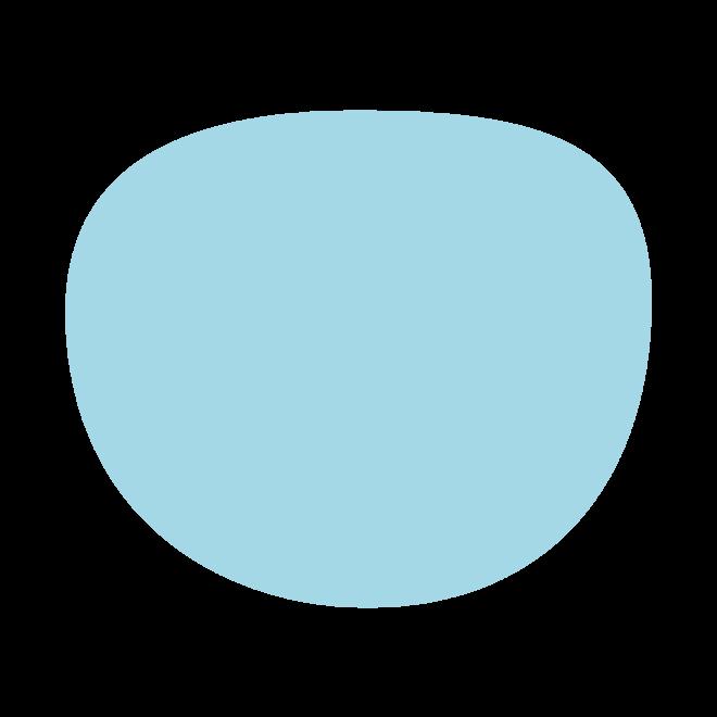 "IZIPIZI Screen Junior Blue Tortoise ""D"" Round"
