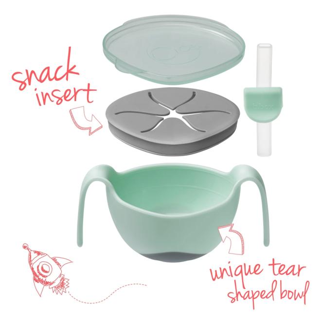 Bowl And Straw Pistachio