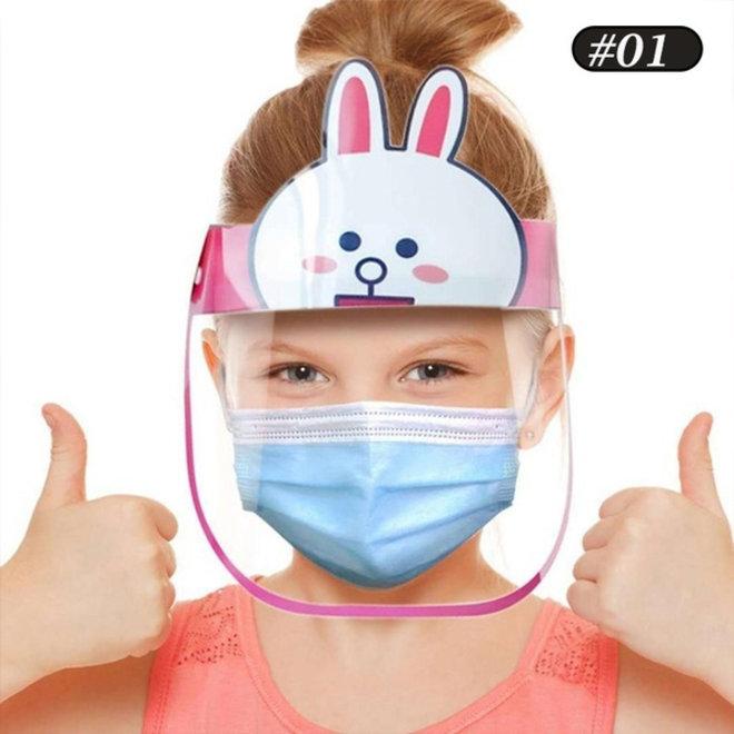 Kids Face Shield Bunny