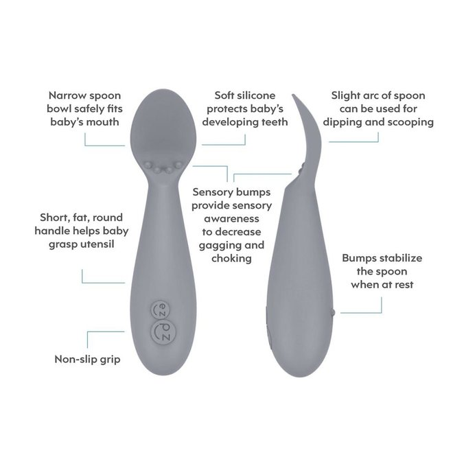 ezpz Tiny Spoon 2-pack Sage