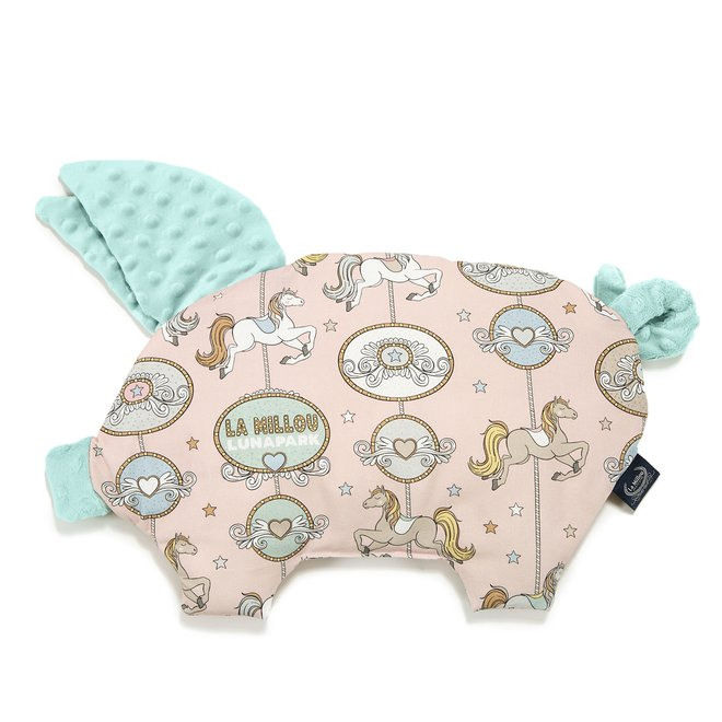 SLEEPY PIG PILLOW - DREAM LUNAPARK - AUDREY MINT
