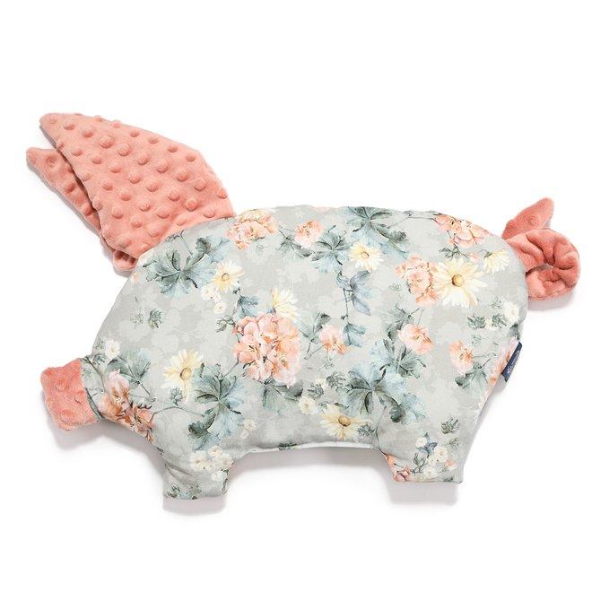 SLEEPY PIG PILLOW - BLOOMING BOUTIQUE - PAPAYA