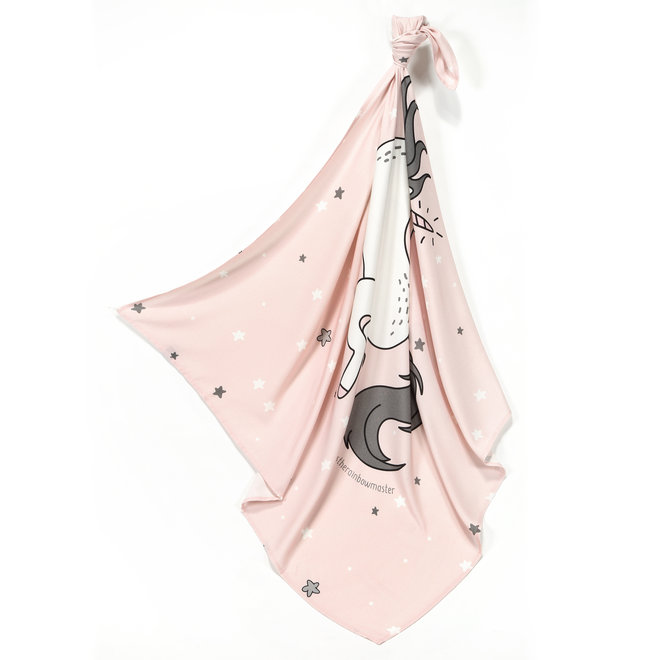 BAMBOO SWADDLE FRINGE - ONE UNICORN SUGAR BEBE