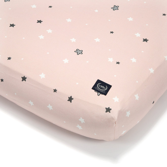 BEDSHEET GOOD NIGHT M 70 X 140 cm - UNICORN SUGAR BEBE STAR
