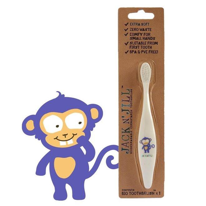 Jack n Jill Bio Toothbrush Monkey