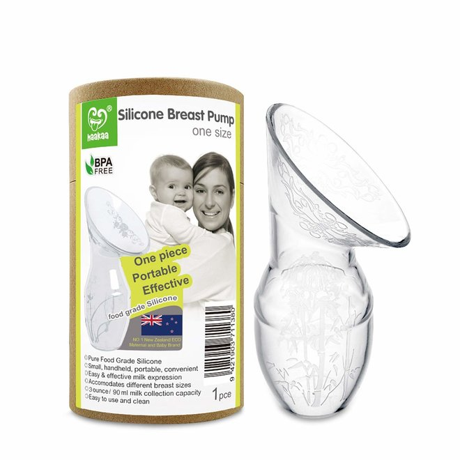 Haakaa Silicone Breast Pump with Base 100 ml