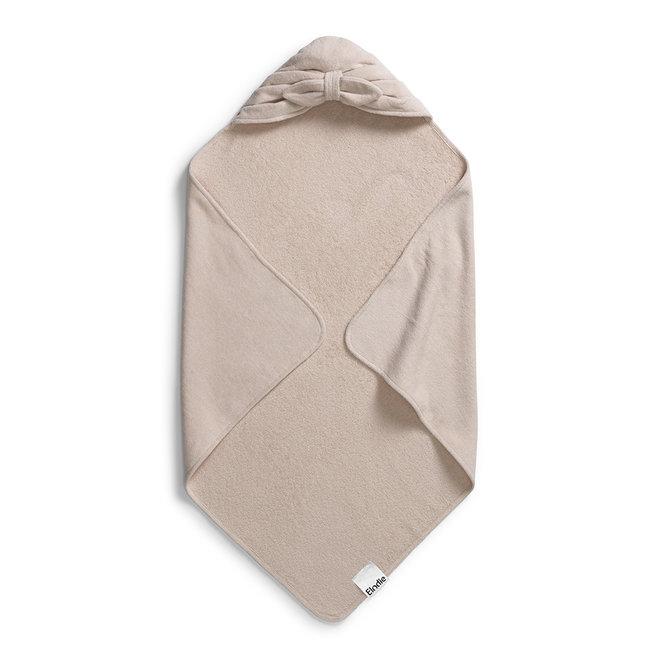 Elodie Details - Hooded Towel - Powder Pink Bow