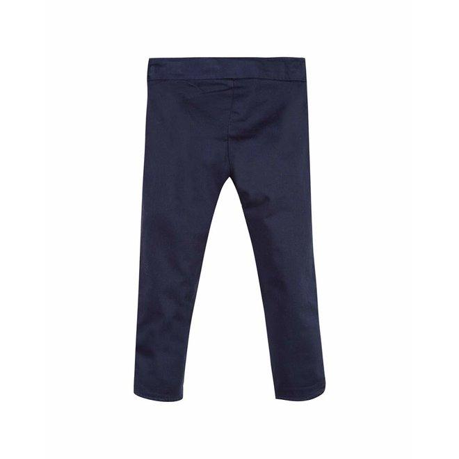 Lili Gaufrette Lepant Trousers Navy