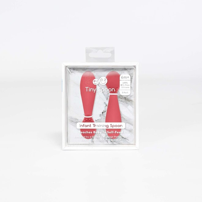 ezpz Tiny Spoon 2-pack Coral