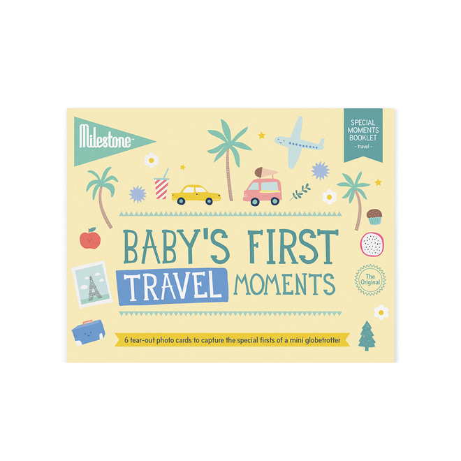 Milestone - Baby's First Travel Moments