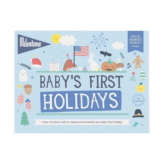 Milestone - Baby's First Holidays 4.20  0 EA