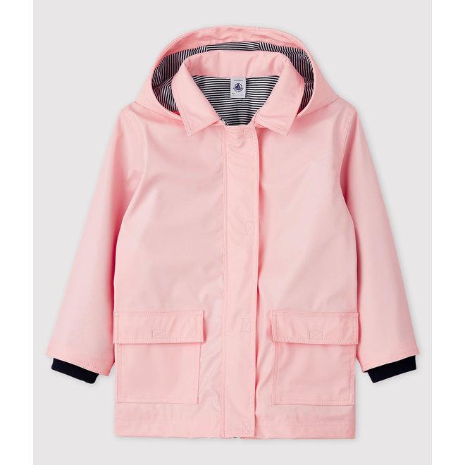 Girls' Iconic Raincoat Pink