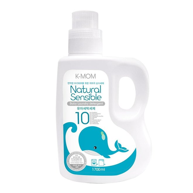 K-Mom Laundry Detergent 1700Ml Bottle