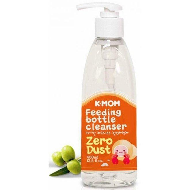 K-Mom Zero-Dust Feeding Bottle Cleanser Green Olive
