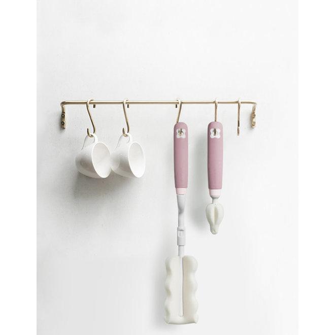 Babycare Bottle & Straw Brush Set Whale 3Set