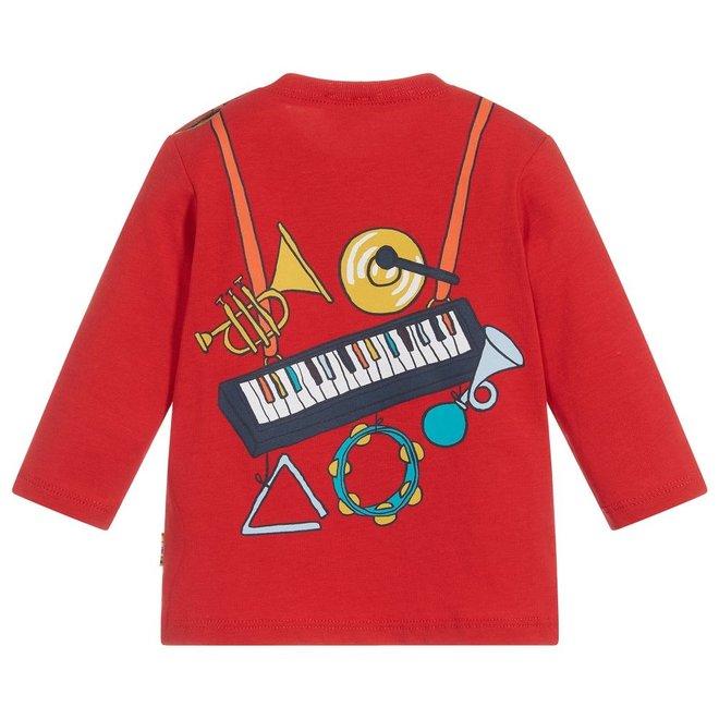 Babou Tee Shirt Goji Berry Red
