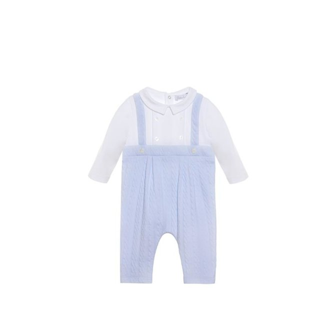 "BABYGROW ""Newborn Blue"" playsuit-knit"
