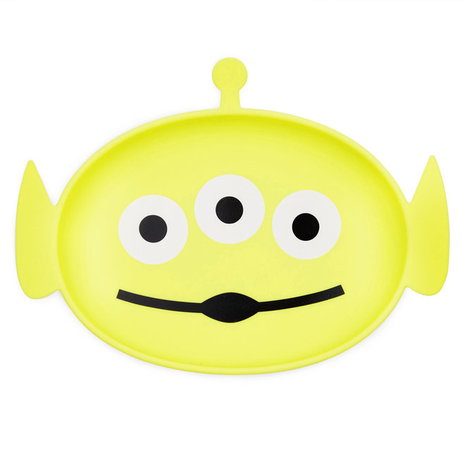 Bumkins - Silicone Grip Dish - Toy Story Alien