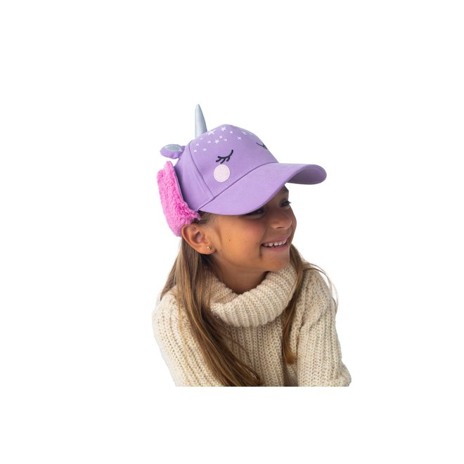 Flapjacks 3D Caps with Earflaps Unicorn