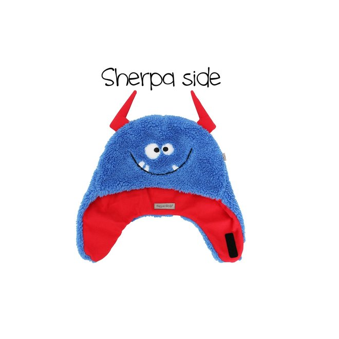 Flapjacks Reversible Sherpa Hat Monsters