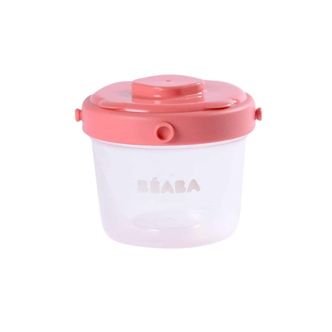 Clip Container 2 oz/4 oz (6 Pk) Pink