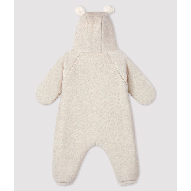 Baby bear velvet jumpsuit