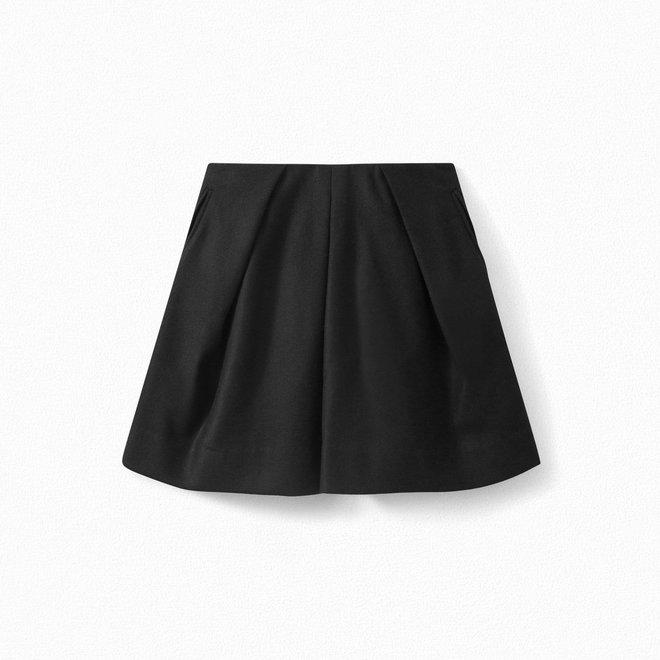 Girls' Short Skirt Black