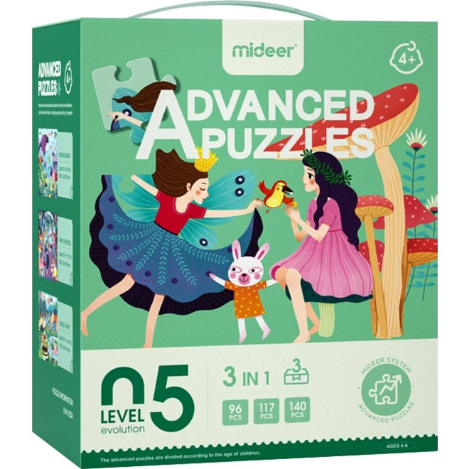 Advanced Puzzle - 05 Fairy 353 pcs