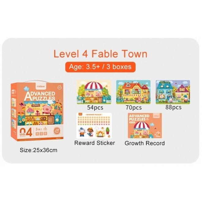 Advanced Puzzle - 04 Town 212 pcs