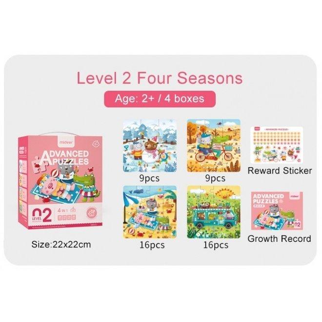 Advanced Puzzle - 02 Season 57 pcs