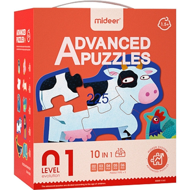 Advanced Puzzle - 01 Animal 40 pcs