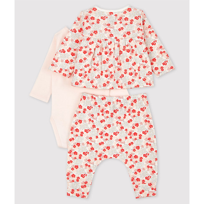 Babies' Pink Organic Cotton Clothing - 3-Pack