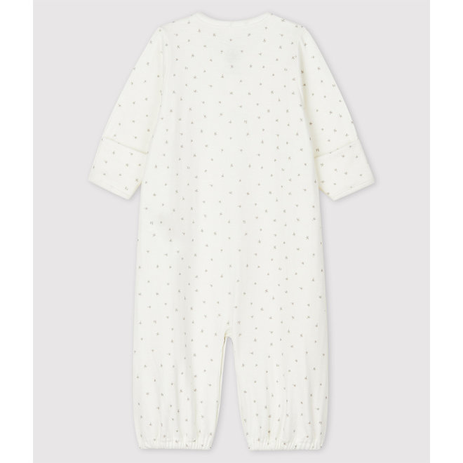 Babies' Boat Pattern Organic Cotton Jumpsuit/Sleeping Bag Baby Boat