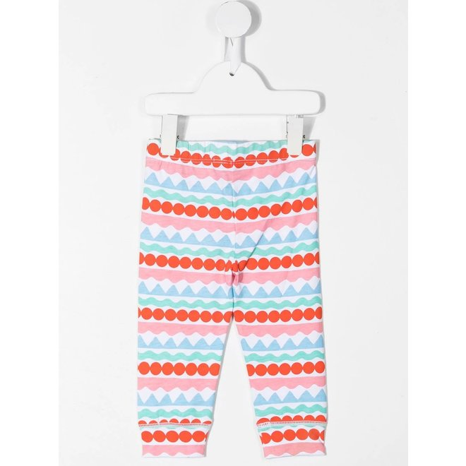 BABY GIRStella Mccartney BABY GIRL GRAPHIC STRIPE LEGGINGSL GRAPHIC STRIPE LEGGINGS