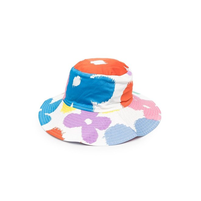 Stella Mccartney KID GIRL FLOWERS BUCKET HAT