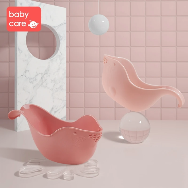 BABYCARE SHOWER RINSE CUP RED