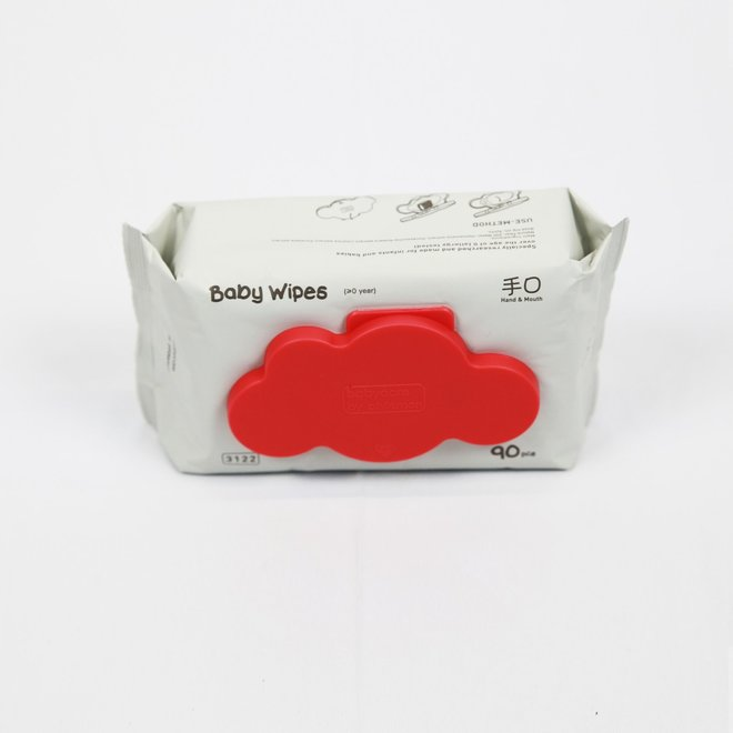 BABYCARE INFANT & BABY WIPES WITH CAP 3*90PCS