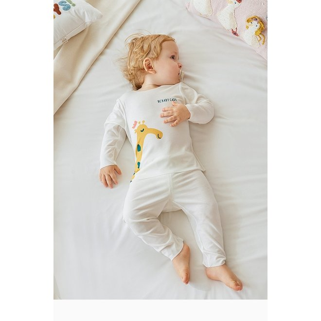 BABYCARE MODAL SLEEPSUIT CREAM 100CM