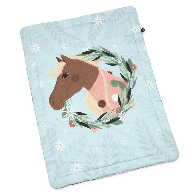 """BEDDING SET WITH FILLING TODDLER """"L"""" - PONY IS MY LOVE & PONY MEADOW"""