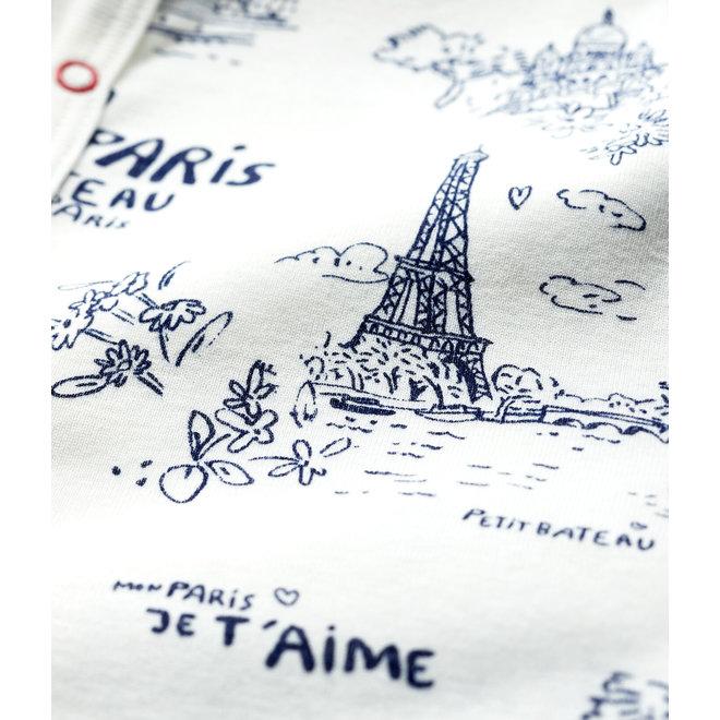 Babies' Toile de Jouy Paris Cotton Playsuit