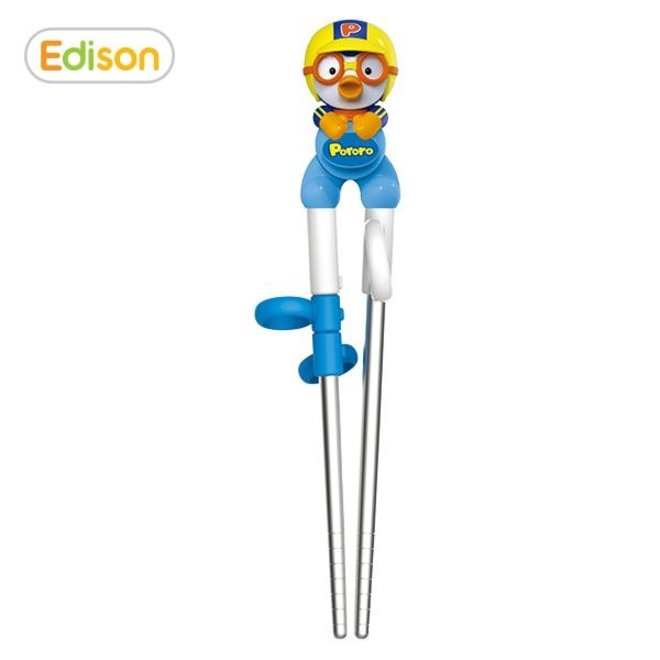 EDISON STAINLESS 3D CHOPSTICKS RIGHTHANDED PORORO